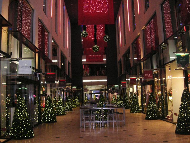 Messehof – Weihnachtsdekoration